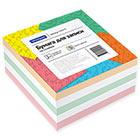 Блок для записей 90х90х45 мм цветной проклеенный Office Space